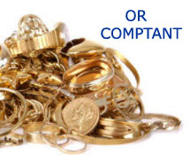 Payons Comptant - Or comptant - gold in cash